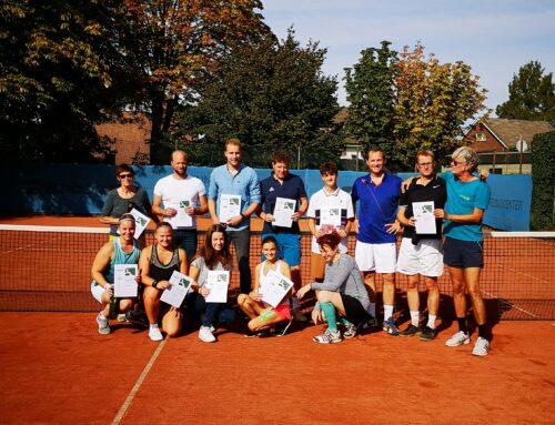 Clubmeisterschaften und Saisonabschluss 2019