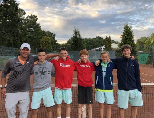 Die U15 Junioren krönen die Sommersaison 2018 mit dem Titel des Westfalenmeisters
