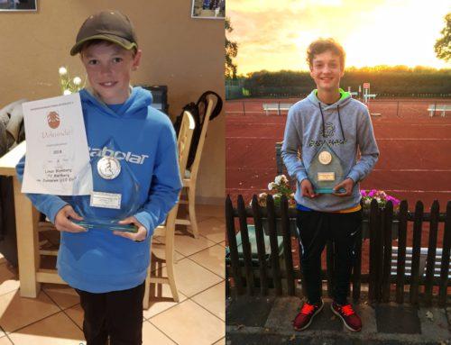 Jugendkreismeisterschaften 2018 – für erfolgreichen Nachwuchs ist beim TC Rietberg gesorgt