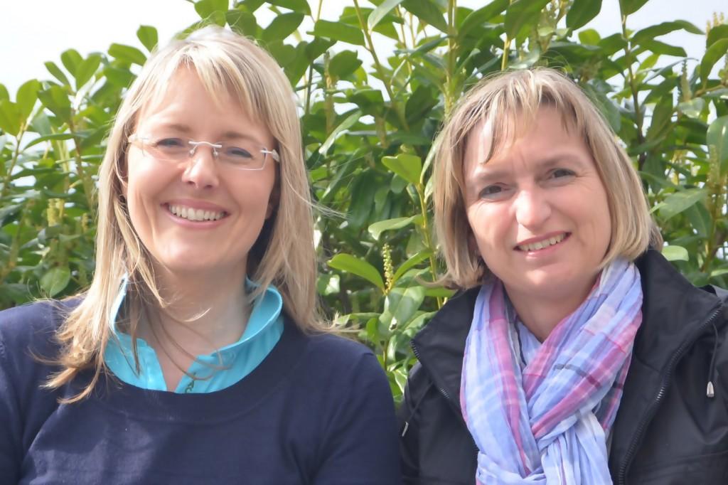 Lenka Keiner und Adriana Sorg