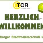 Stadtmeisterschaft 2016_ Willkommen